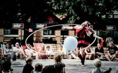 Hula-Hoop-Fitness mit Sara Lang – für einen guten Zweck!